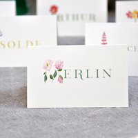 Personalised Place Setting Cards