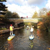 Master Paddle Boarding Through London For One