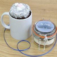 Daddy's Chocolate Mug Cake Treat