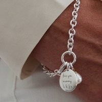 Personalised Mothers Day Bracelet With Pearl