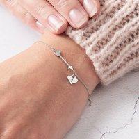 Arrow Bracelet Personalised Diamond Bracelet