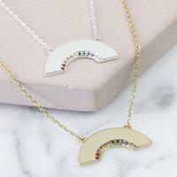 Crystal Rainbow Necklace