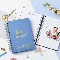 Personalised Baby Journal