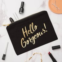 Personalised Slogan Make Up Bag