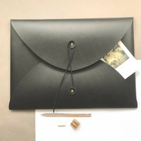 Recycled Leather A3 Tie Portfolio