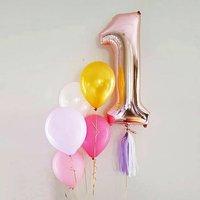 Rose Gold Foil Number Balloon