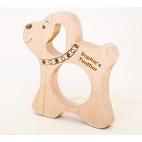 Poppy Dog Organic Wood Teether