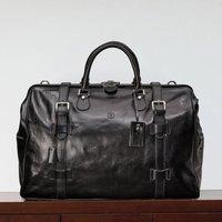 Personalised Leather Gladstone Holdall Gassano Large