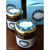 Personalised Baby Shower Jam Favours