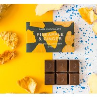 Pana Chocolate Pineapple And Ginger X Three Bars