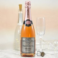 Personalised Valentine's 'With Love' Champagne