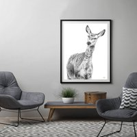 Deer Print 'The Doe'