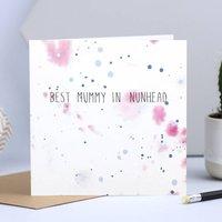 Card For Mum's Birthday