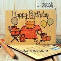 Sign Posts Happy Birthday