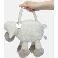 Sheep Handbag With Personalised Heart Keepsake Keyring
