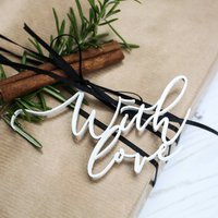 'With Love' Gift Tags