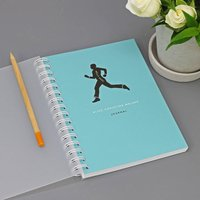 Personalised Fitness Lovers Journal Or Notebook