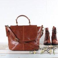 Leather Across Body Shoulder Bag
