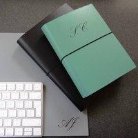 Personalised Monogram Leather Journal