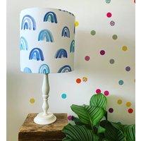 Cool Blues Rainbow Lampshade