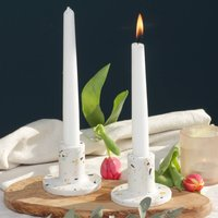 Spring Terrazzo Candle Stick Holder