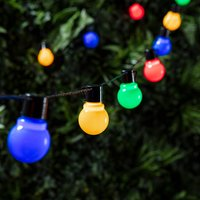 30 Multi Coloured Festoon Lights