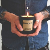 Personalised Gift Candle For Men Mandle