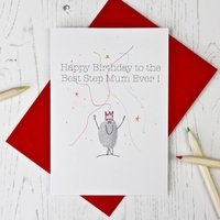 Step Mum Birthday Card