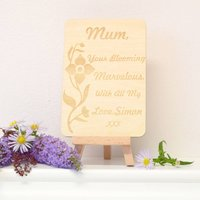 Personalised Gift Card For Mum
