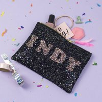 Personalised Glitter Handbag