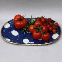 Personalised Cosmic Ceramic Oval Platter