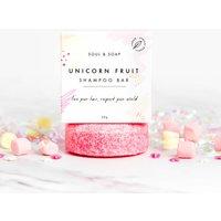 Vegan Unicorn Solid Shampoo Bar