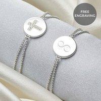 Personalised Angel Of Mine Cross Bracelet