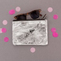 Airplane Zipper Pouch Bag For Traveller Or Leaving Gift