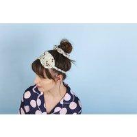Ladybird, Floral Silk Hair Tie Scrunchie