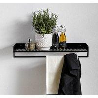 Danish Wall Mounted Towel Rail