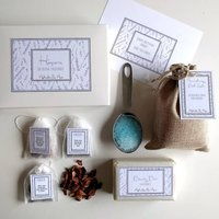 'Hesperia' Spa And Tea Personalised Gift
