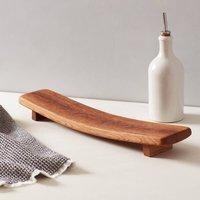 Reclaimed Oak Serving Platter Small