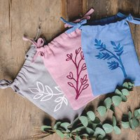 Natural Linen Favour Herb Bags