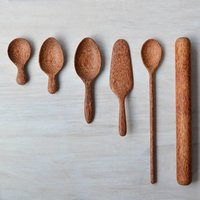Coconut Wood Baking Utensils