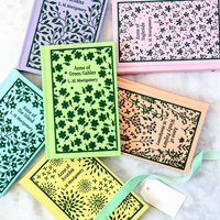 Anne Of Green Gables Clothbound Book Collection