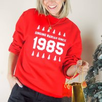 Personalised Year Christmas Jumper