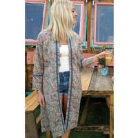 Flirty Flowers Kimono Jacket