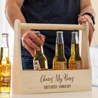 Personalised Beer Holder Cheers My Beers