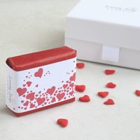 Personalised Valentines Gift Soap