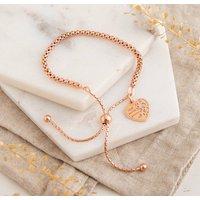 Rose Gold 'Best Friends Forever' Bracelet, Gold