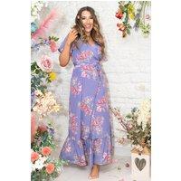 Rosie Wrap Dress Daybreak
