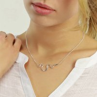 Snake Necklace With Optional Diamonds