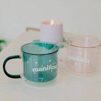 Manifest Double Layered Mug Six Colours