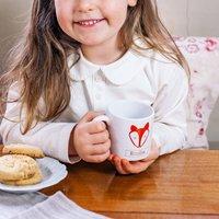 Personalised Fox Children's Mug